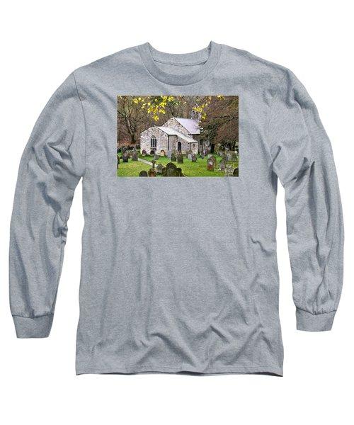 All Saints Church Hawnby Yorkshire Uk Long Sleeve T-Shirt