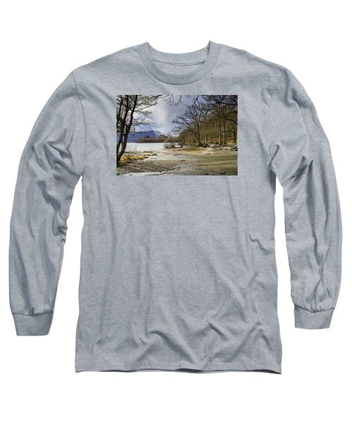 Long Sleeve T-Shirt featuring the photograph All Seasons At Loch Lomond by Jeremy Lavender Photography