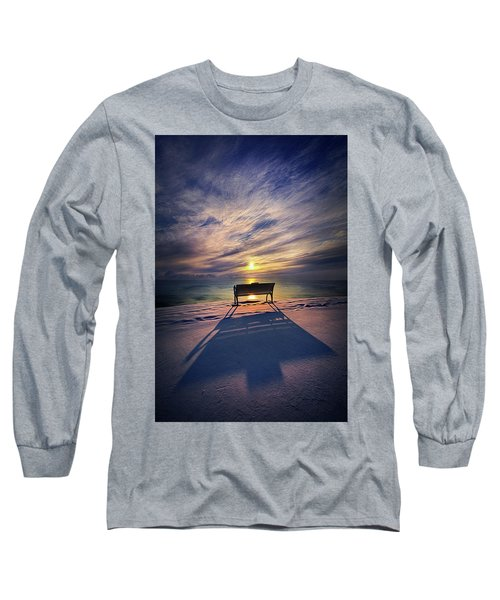 Long Sleeve T-Shirt featuring the photograph All Shadows Chase Swift by Phil Koch
