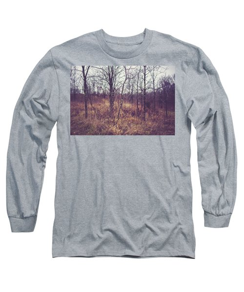 Long Sleeve T-Shirt featuring the photograph All The While by Shane Holsclaw