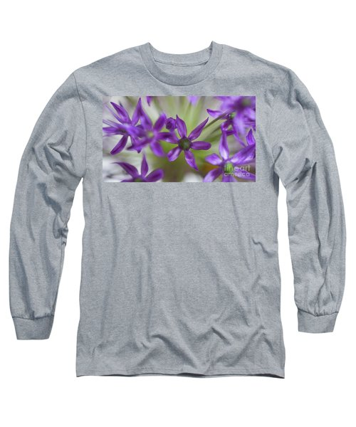 Allium Aflatunense Long Sleeve T-Shirt