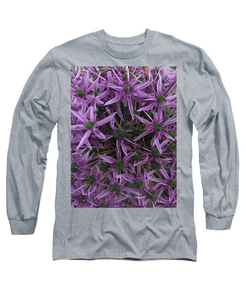 Allium Stars  Long Sleeve T-Shirt