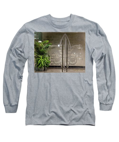 Alma Mater Long Sleeve T-Shirt by Gregory Daley  PPSA