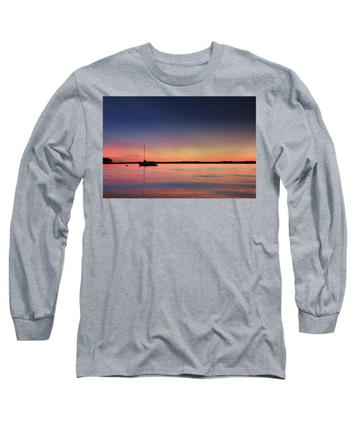 Long Sleeve T-Shirt featuring the photograph Almost Paradise by Lori Deiter