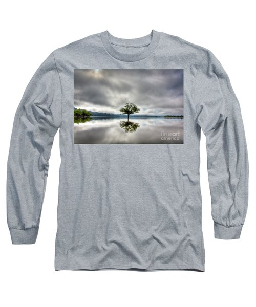 Long Sleeve T-Shirt featuring the photograph Alone by Douglas Stucky