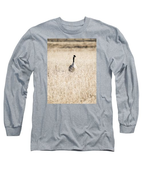 Alone In The Field Long Sleeve T-Shirt