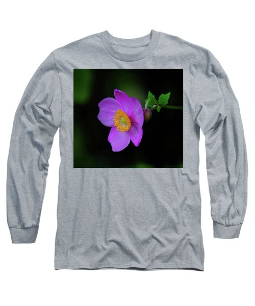 Anenome Purple Long Sleeve T-Shirt