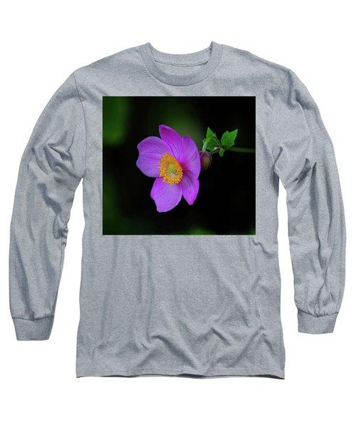 Anenome Purple Long Sleeve T-Shirt