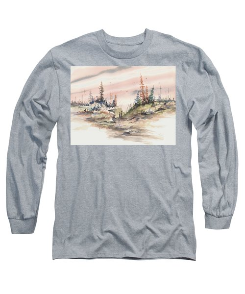 Alone Together Long Sleeve T-Shirt by Sam Sidders