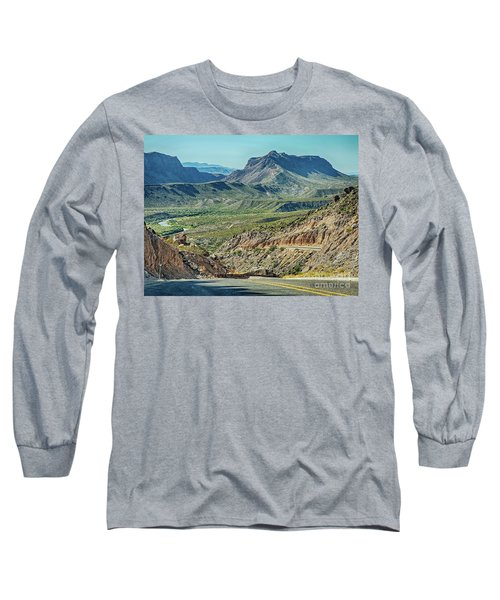 Along The Border Long Sleeve T-Shirt