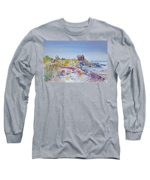 Along The Coast Long Sleeve T-Shirt by P Anthony Visco