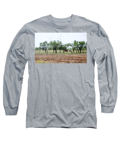 Along The Road Long Sleeve T-Shirt