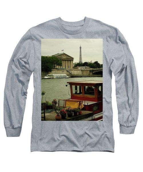 Along The Seine Long Sleeve T-Shirt