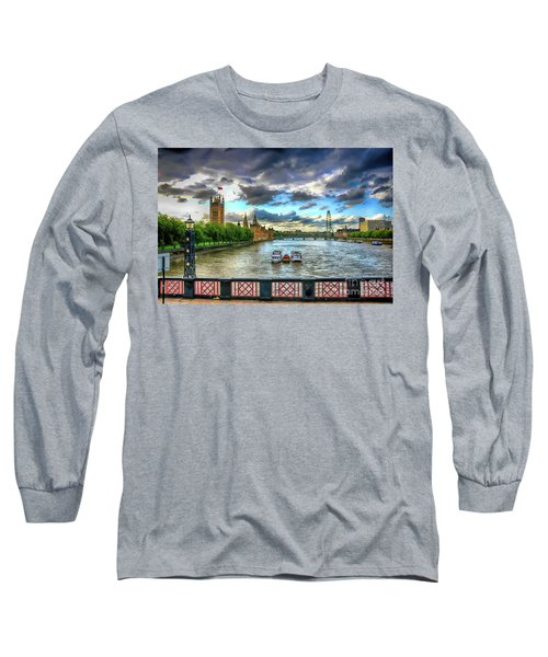 Along The Thames Long Sleeve T-Shirt