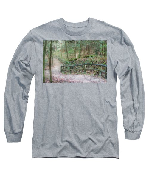 Along The Trail, Life Happens Long Sleeve T-Shirt