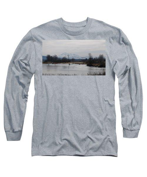 Alouette River Long Sleeve T-Shirt