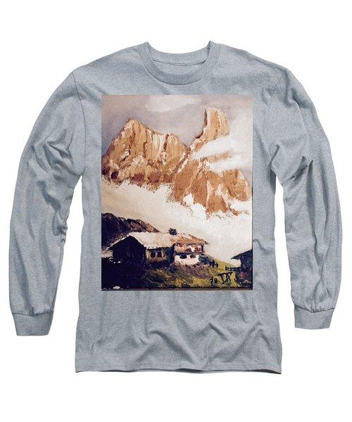 Alpine Home  Long Sleeve T-Shirt