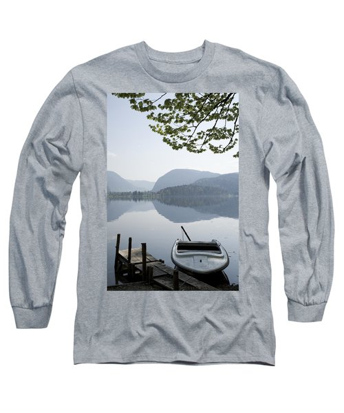 Long Sleeve T-Shirt featuring the photograph Alpine Moods by Ian Middleton