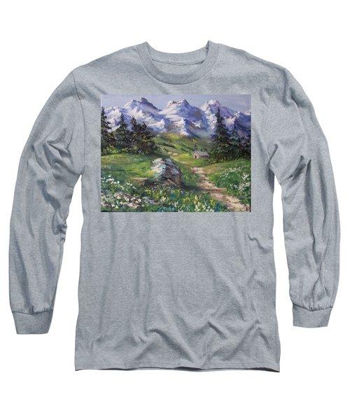 Alpine Splendor Long Sleeve T-Shirt