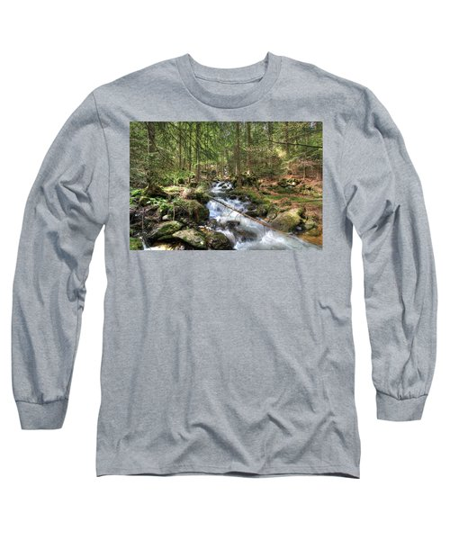 Alpine Water Falls Long Sleeve T-Shirt