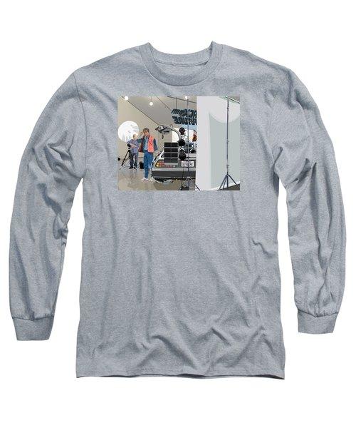 Alt. Poster Angle Long Sleeve T-Shirt by Kurt Ramschissel