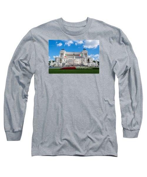 Altare Della Patria-3344 Long Sleeve T-Shirt