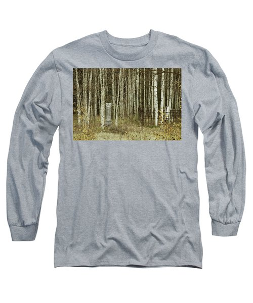 Long Sleeve T-Shirt featuring the photograph Alvarado Cemetery 42 by Marie Leslie