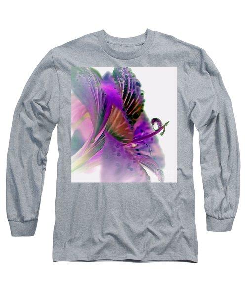 Amaryllis Butterfly II Long Sleeve T-Shirt