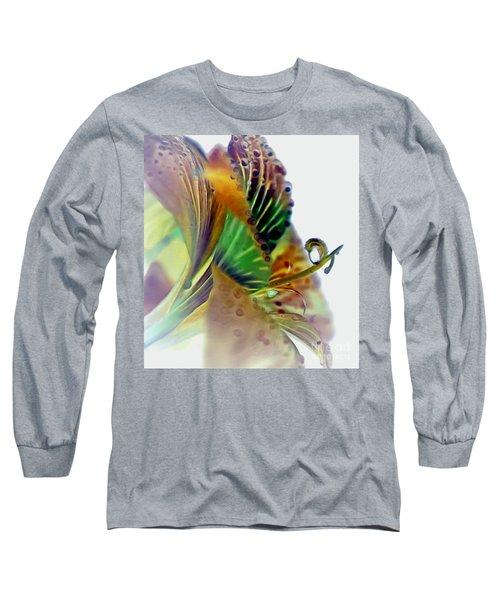 Amaryllis Butterfly Long Sleeve T-Shirt