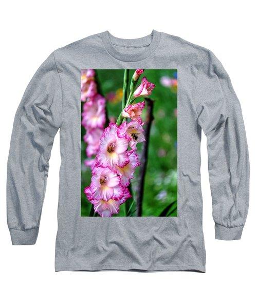 Amaryllis Long Sleeve T-Shirt by Ronda Ryan