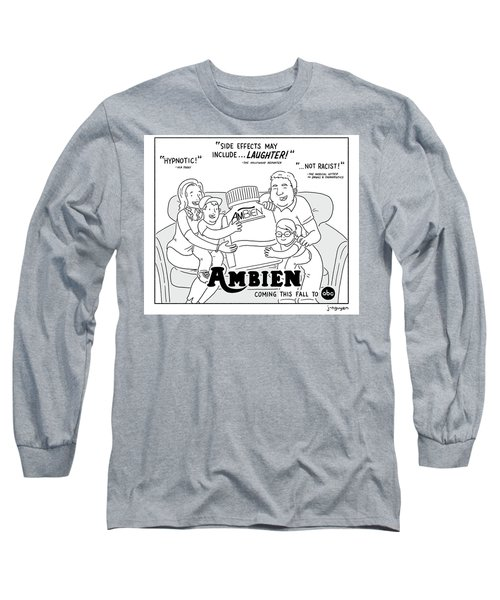 Ambien Coming This Fall To Abc Long Sleeve T-Shirt