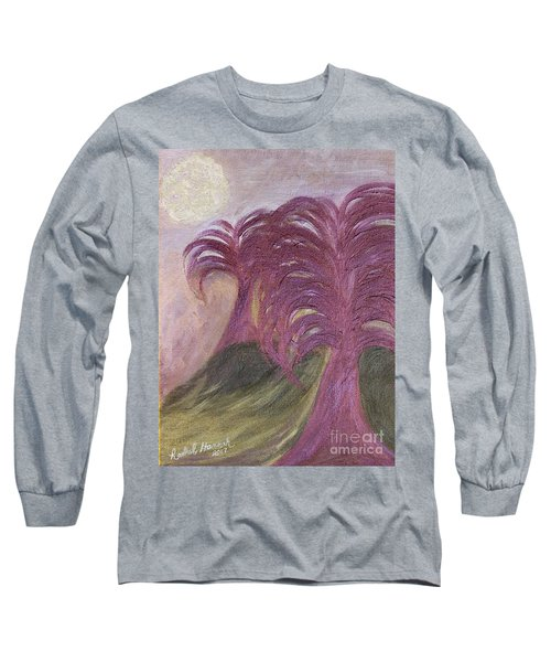 Ambient Moonlight Long Sleeve T-Shirt
