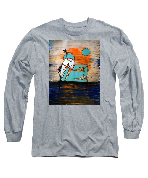 Ameeba- Horse 1 Long Sleeve T-Shirt