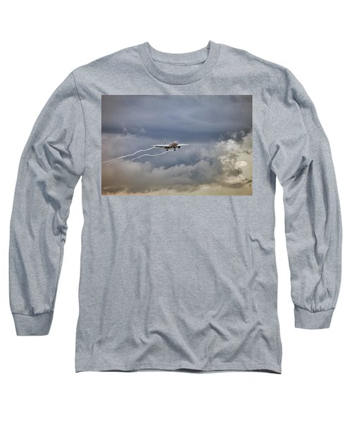 American Aircraft Landing Long Sleeve T-Shirt