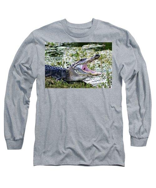 American Alligator Florida 3314_2 Long Sleeve T-Shirt