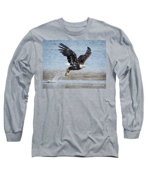 American Bald Eagle Taking Off Long Sleeve T-Shirt