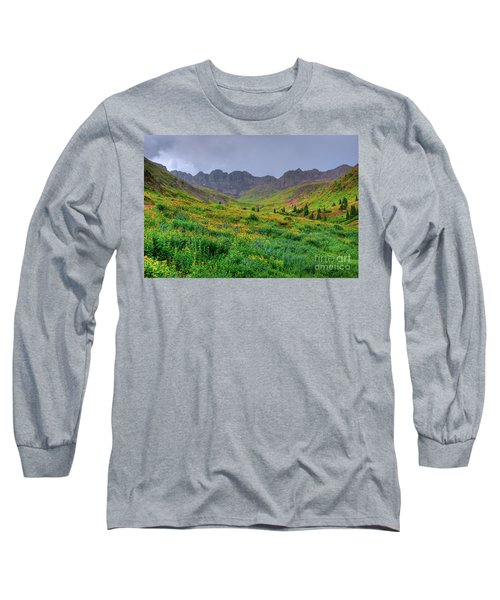 American Basin Summer Storm Long Sleeve T-Shirt by Teri Brown