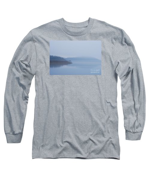 Long Sleeve T-Shirt featuring the photograph American Coot In Misty Fog 20120316_40a by Tina Hopkins