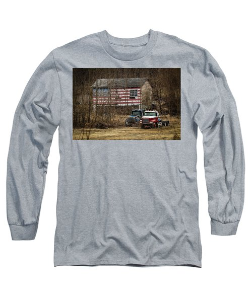 American Dream Long Sleeve T-Shirt by Ray Congrove