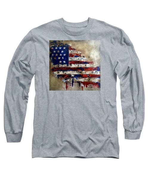 American Flag Long Sleeve T-Shirt