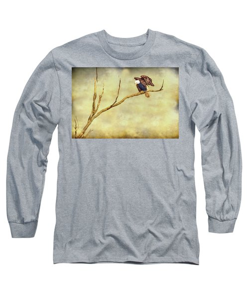 Long Sleeve T-Shirt featuring the photograph American Freedom by James BO Insogna