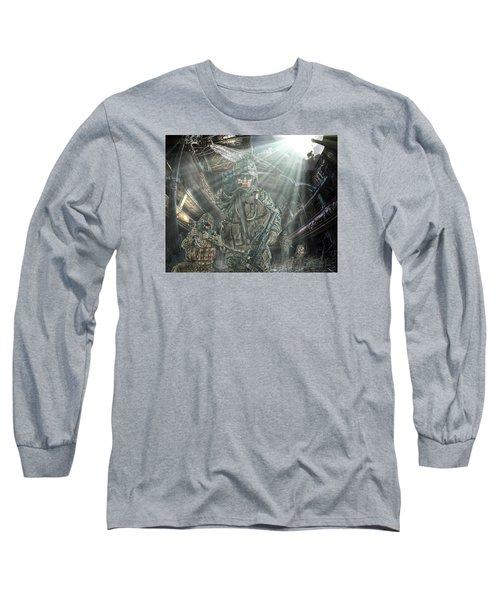 American Patriots Long Sleeve T-Shirt by Mark Allen