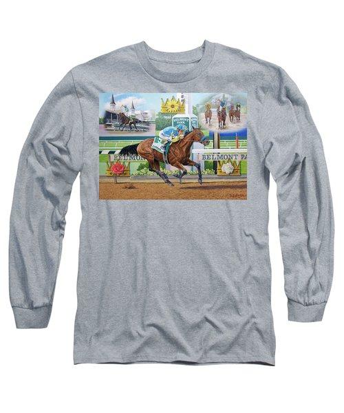 American Pharoah Long Sleeve T-Shirt