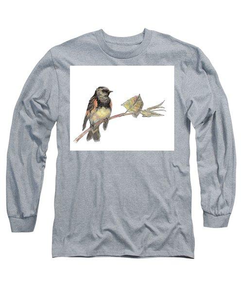 American Redstart Long Sleeve T-Shirt