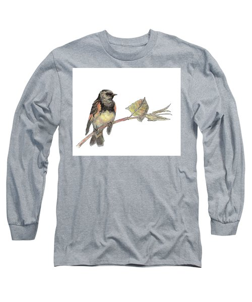 American Redstart Long Sleeve T-Shirt
