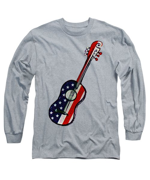 American Rock And Roll Long Sleeve T-Shirt by Bill Cannon