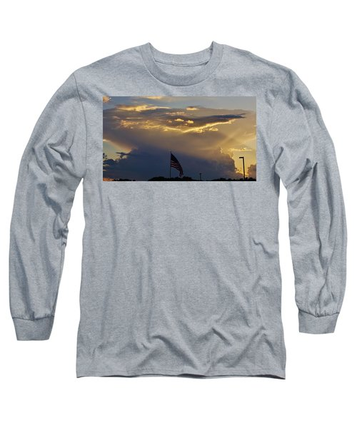 American Supercell Long Sleeve T-Shirt by Ed Sweeney