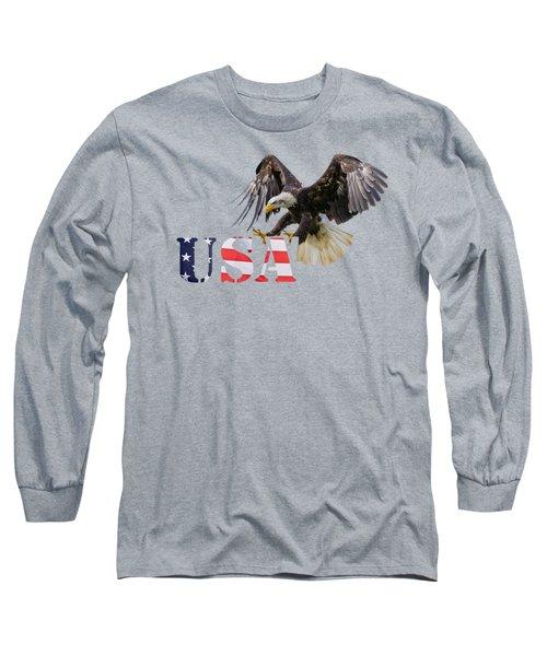 Americ's Eagle Long Sleeve T-Shirt