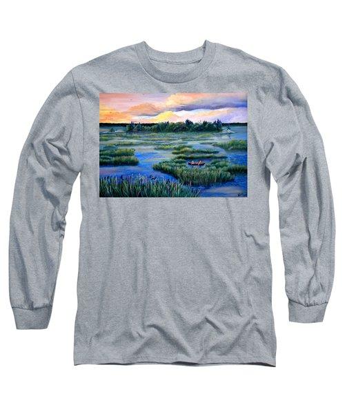 Amongst The Reeds Long Sleeve T-Shirt