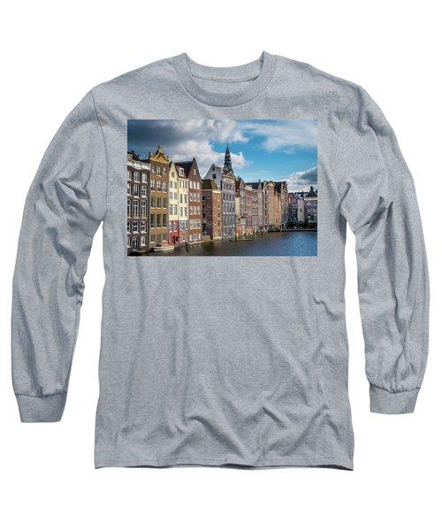 Amsterdam Buildings Long Sleeve T-Shirt